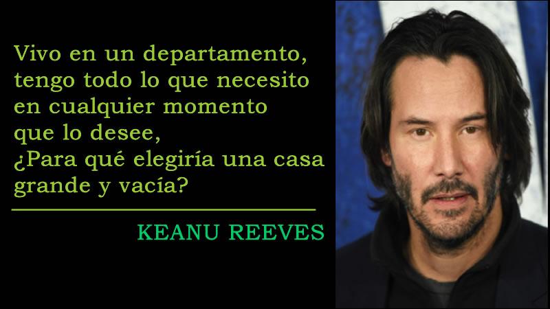 Keanu Reeves Pensamientos y Frases