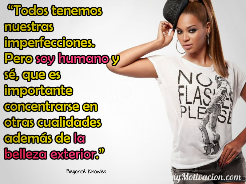Citas Inspiradoras de Beyonce Knowles 2
