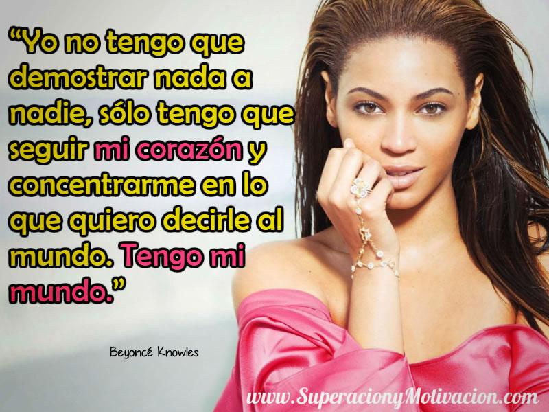 Citas Inspiradoras de Beyonce Knowles