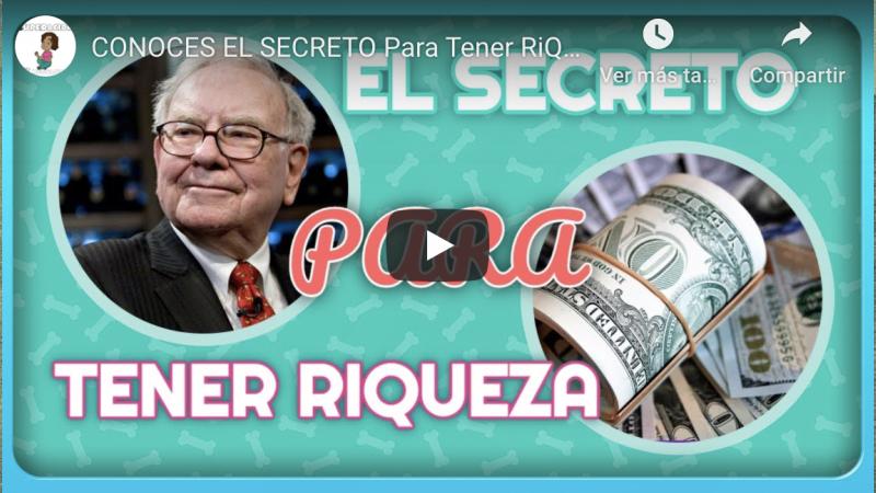 ¿Conoces el secreto para lograr riqueza real?