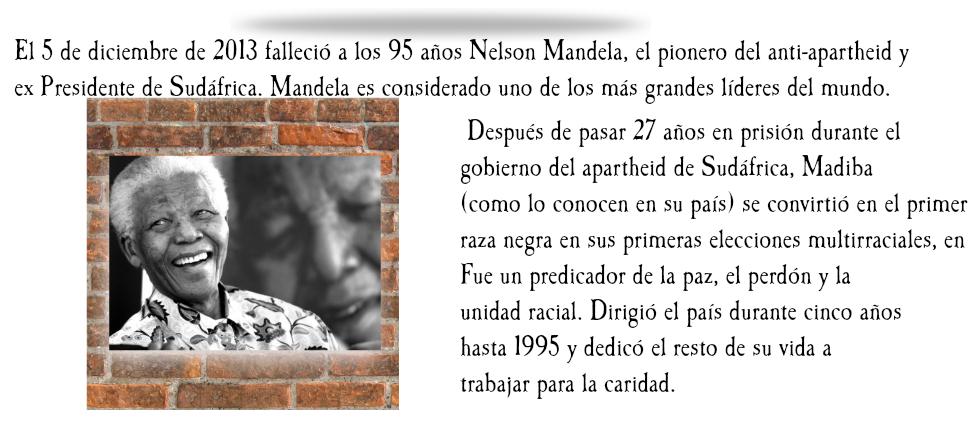 Frases inspiradoras de Nelson Mandela