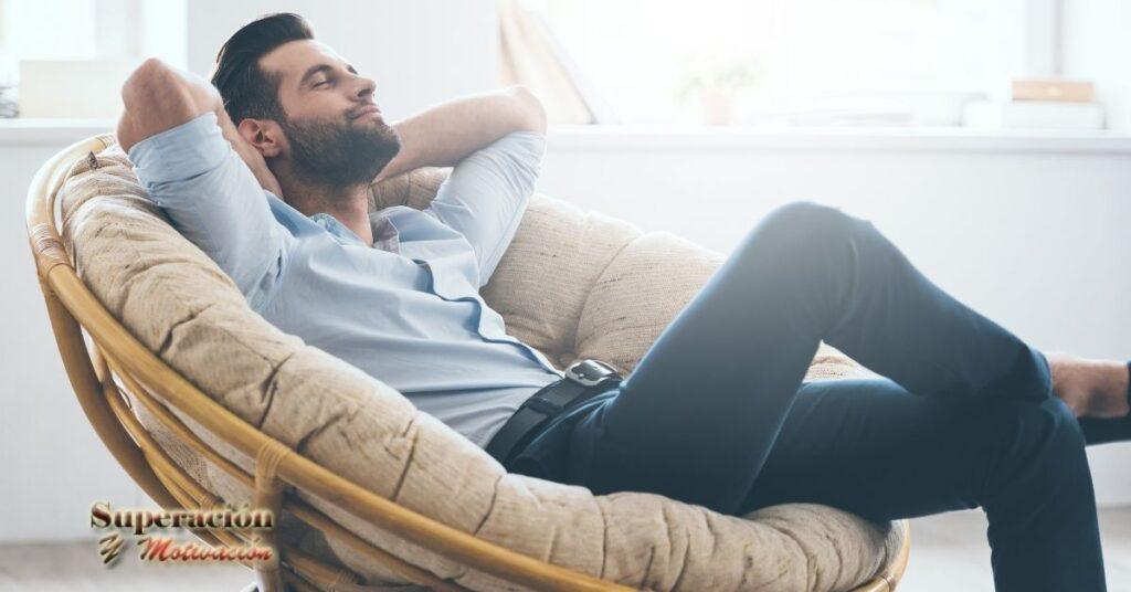 un momento de relax para buena salud mental